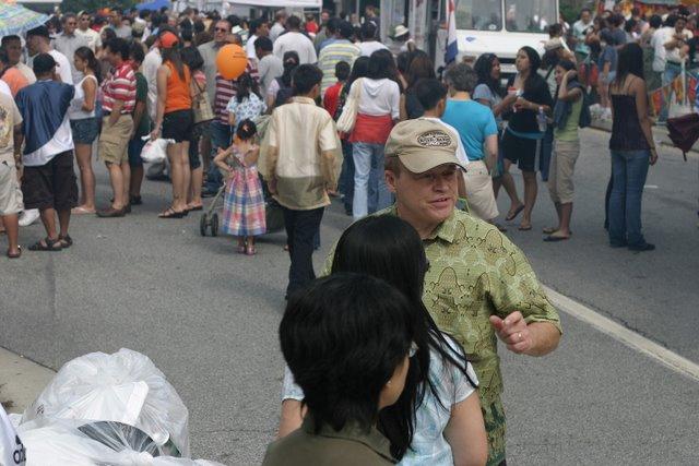 Filipino Festival street scene