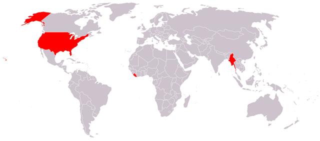 Metric System Map