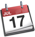 iCal icon July 17th
