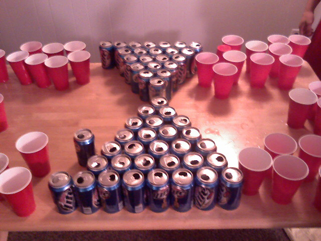 Beer Pong Remains