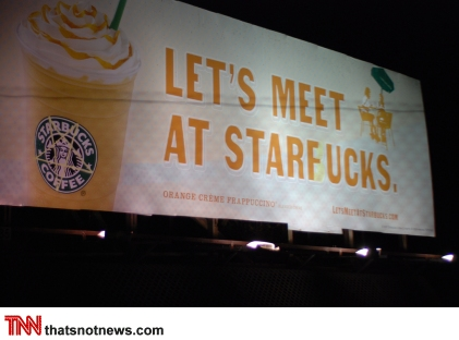 Let's Meet At Starfucks