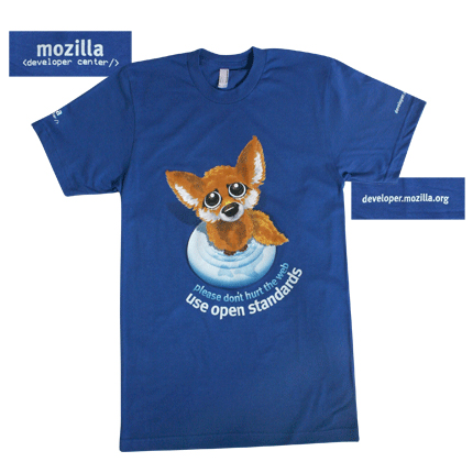 Firefox Open Standards Shirt