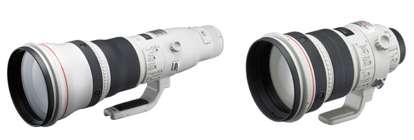 New Canon Super Telephoto Lenses
