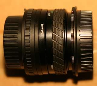 Sigma 28mm f/2.8 Reverse Macro