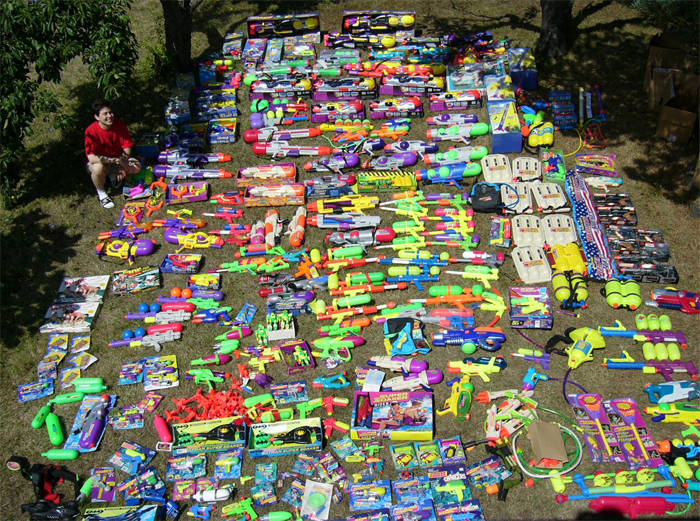 Large Super Soaker Collection