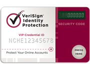 VeriSign Identity Protection Card