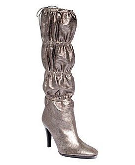 Really Ugly Silver Boots