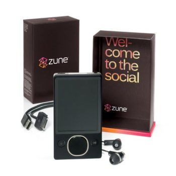 Microsoft Zune 80 Package