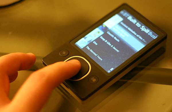Using the squircle on the Zune 80