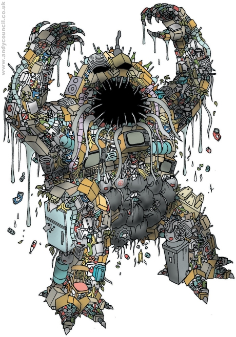 Scrapzilla by Andy Council
