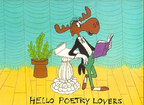 April is poetry month.