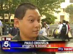 Paulo on Fox 5 News