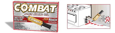Combat Roach Killing Gel