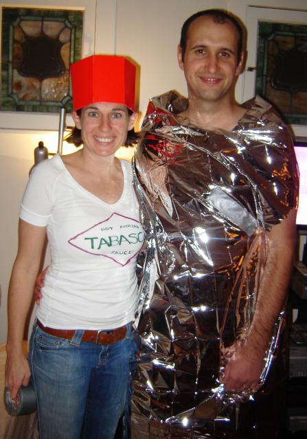 Dorky Burrito Costume