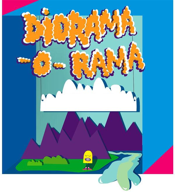 Diorama-o-rama Poster