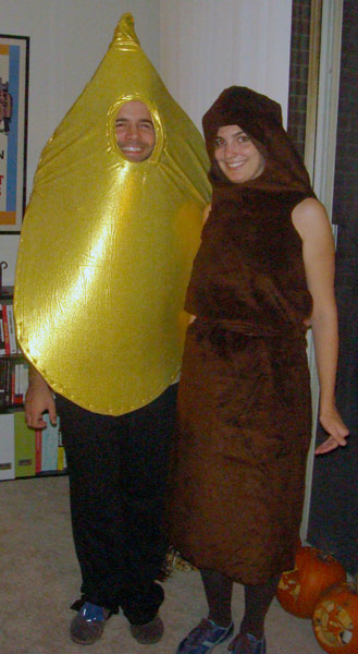 Pee and Poop Costume