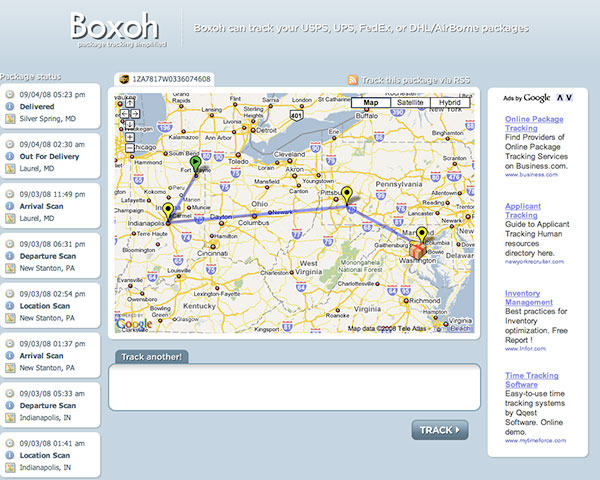 Boxoh.com Screenshot