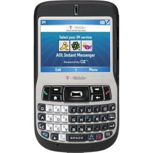The original T-Mobile Dash with a metal bezel.