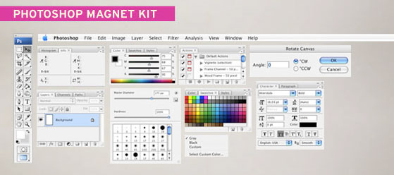 Adobe Photoshop Magnet Kit