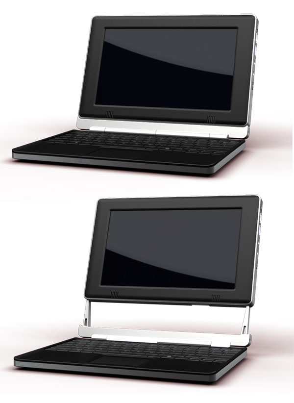 The Touch Book by Always Innovating is a sleek netbook/tablet hybrid