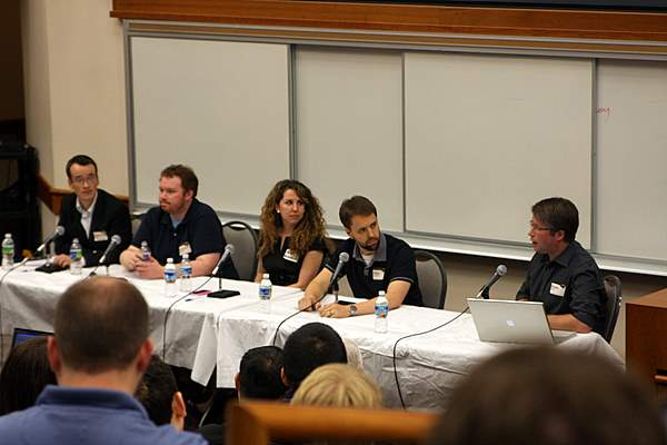 Panelists of the third session at Bootstrap Maryland