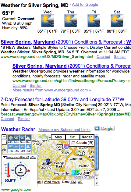 Google-subscribed-links-add-on-weather