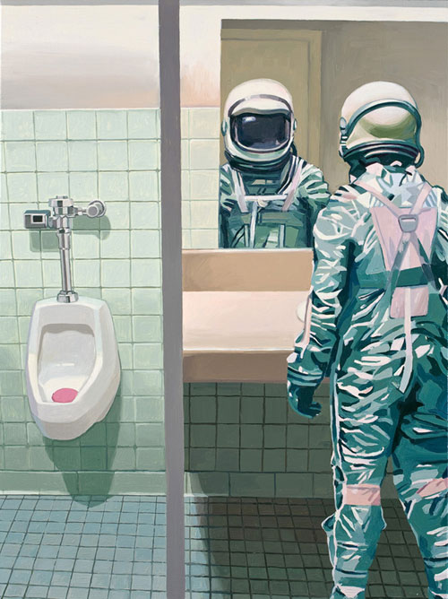 astronaut-in-bathroom-by-Scott-Listfield