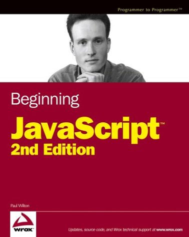 Beginning JavaScript Cover by Paul Wilton