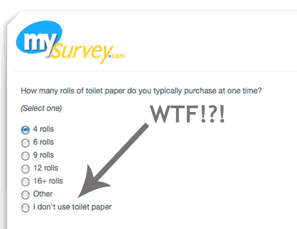 I don't use toilet paper FAIL!
